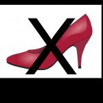Keine hochhackigen Schuhe tragen!